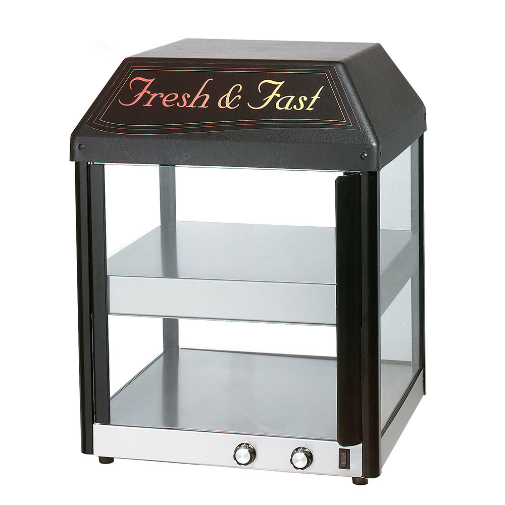 Star 18mcpt Countertop Pass Through Pizza Merchandiser With Two Heated