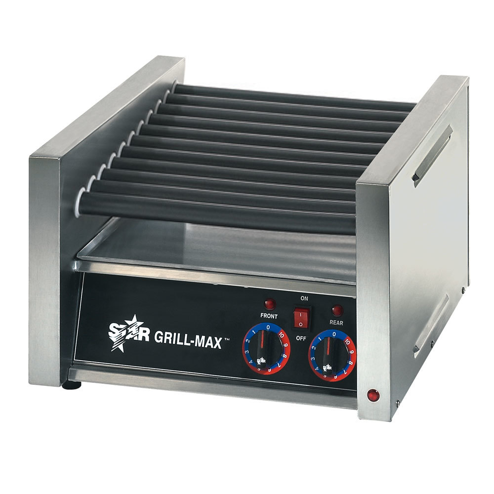 Star 230 Volts (International) Star Grill Max Pro 30CE 30 Hot Dog Roller Grill with Electronic Controls and Chrome Plated Rollers at Sears.com