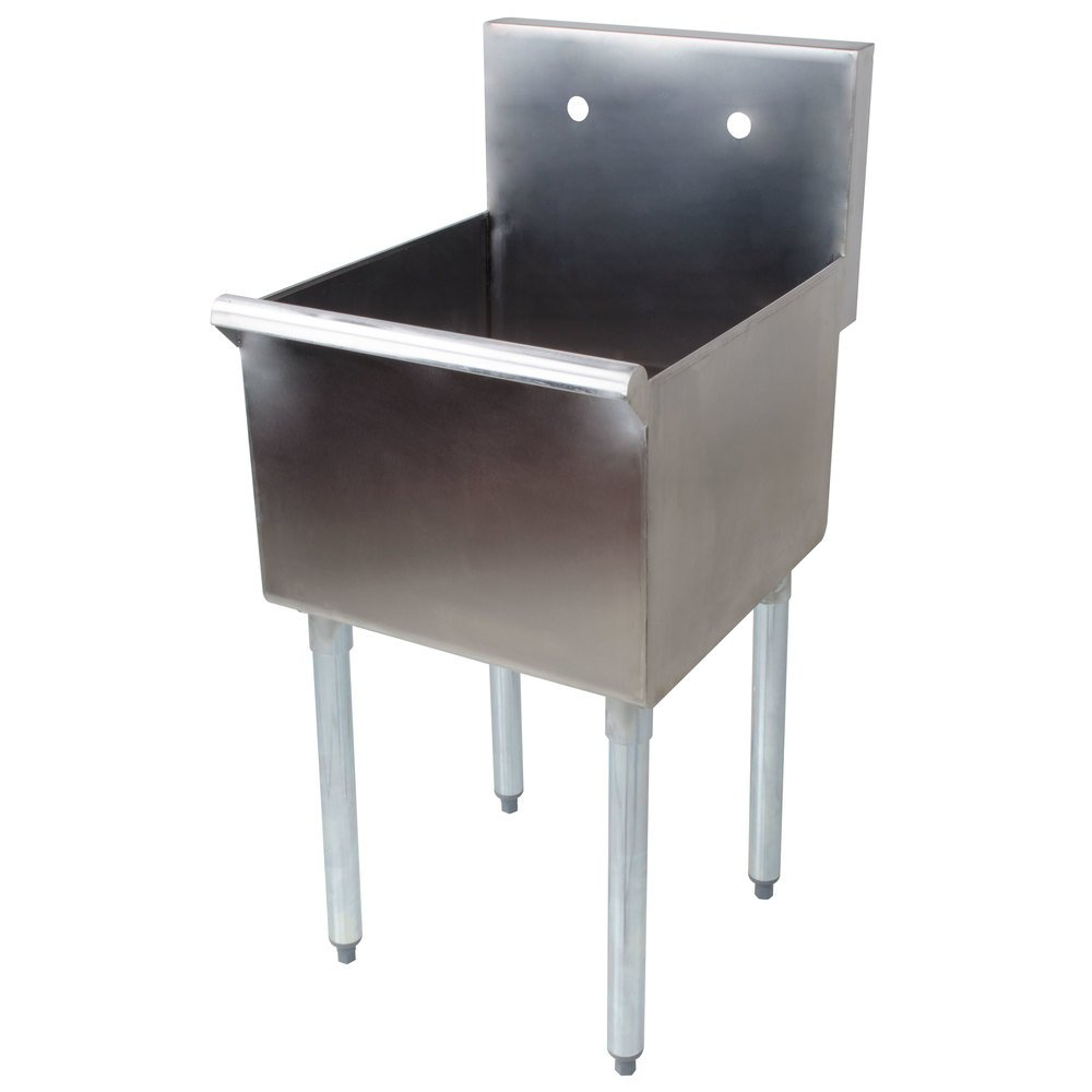16 Gauge Stainless Steel Sink : Regency 18