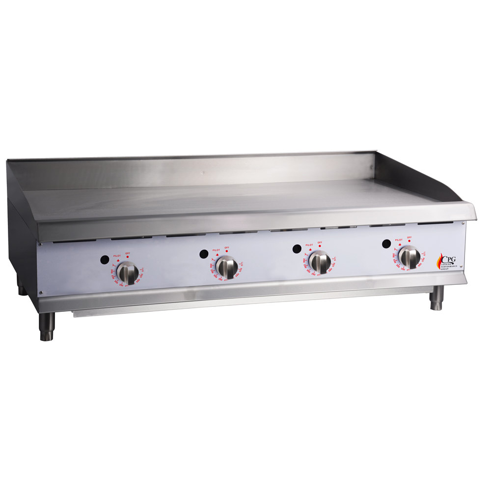 Countertop Stove With Grill : Cooking Performance Group G48T 48