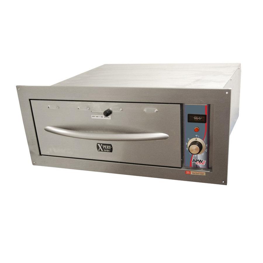 Single Door Warmer ~ Apw wyott hddi b built in single drawer warmer