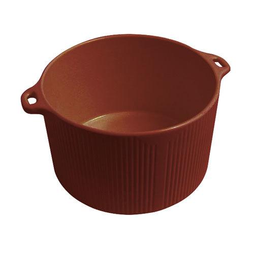 Bon Chef 9145 Sandstone Terra Cotta 2 Qt. Cast Aluminum Pot with Bail Handle at Sears.com