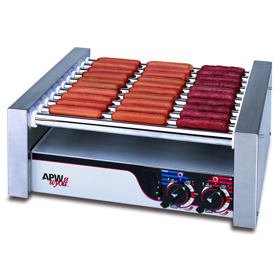 "APW Wyott 208/240 Volt APW Wyott HR-31 Hot Dog Roller Grill 19 1/2""W- Flat Top at Sears.com"