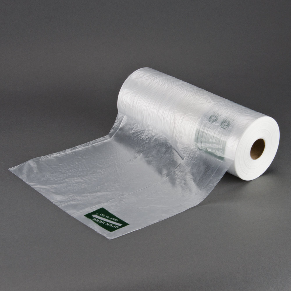 """12"""" x 20"""" Plastic Side Print Produce Bag on a Roll ? 4 / Case at Sears.com"""