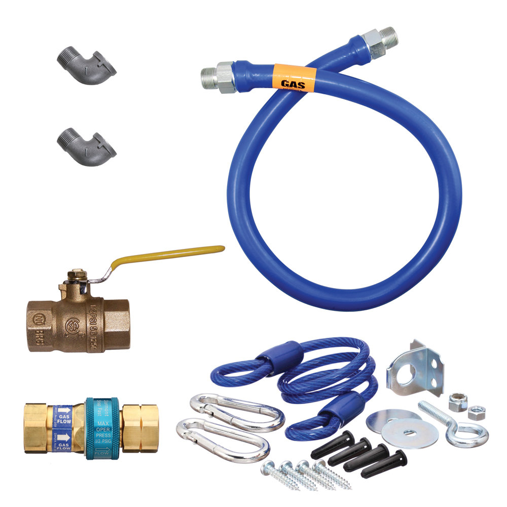 "Dormont 1675KIT60 60"" SnapFast Gas Appliance Connector Kit - 3/4"" Diameter at Sears.com"