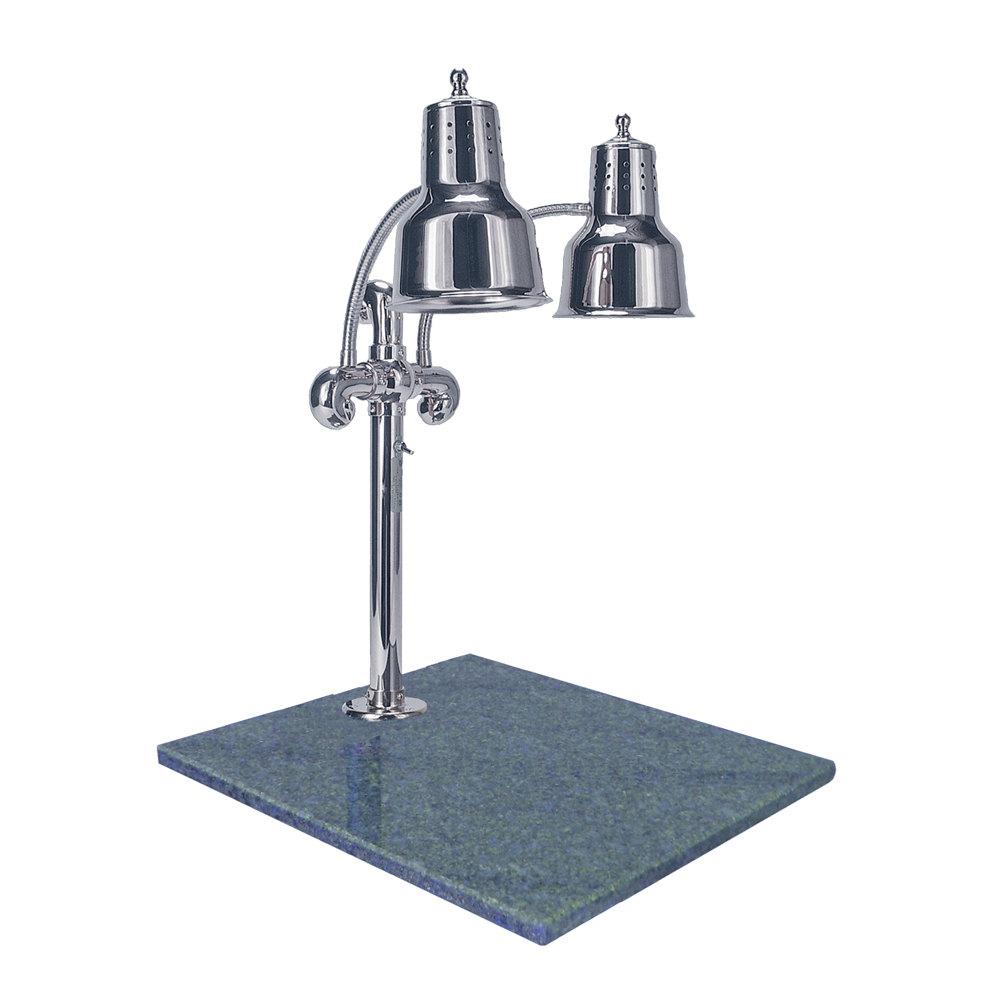 Hanson heat lamps dlm gb ch dual lamp quot chrome
