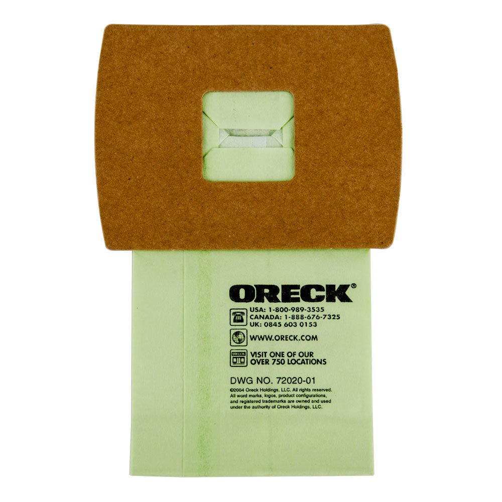 Oreck Pkbb12dw Vacuum Bag For Bb900 Dgr Canister Vacuum