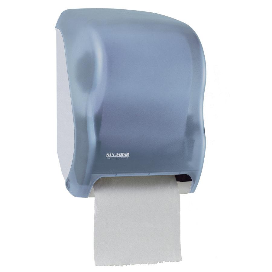 San Jamar T1300TBL Tear-N-Dry Classic Hands Free Roll Towel ...