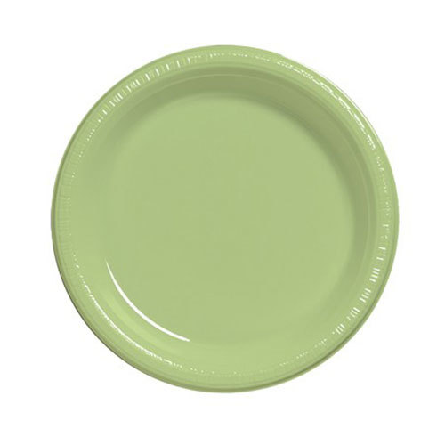 "Creative Converting 8 3/4"" Pistachio Plastic Banquet Plate ? 240 / Case at Sears.com"