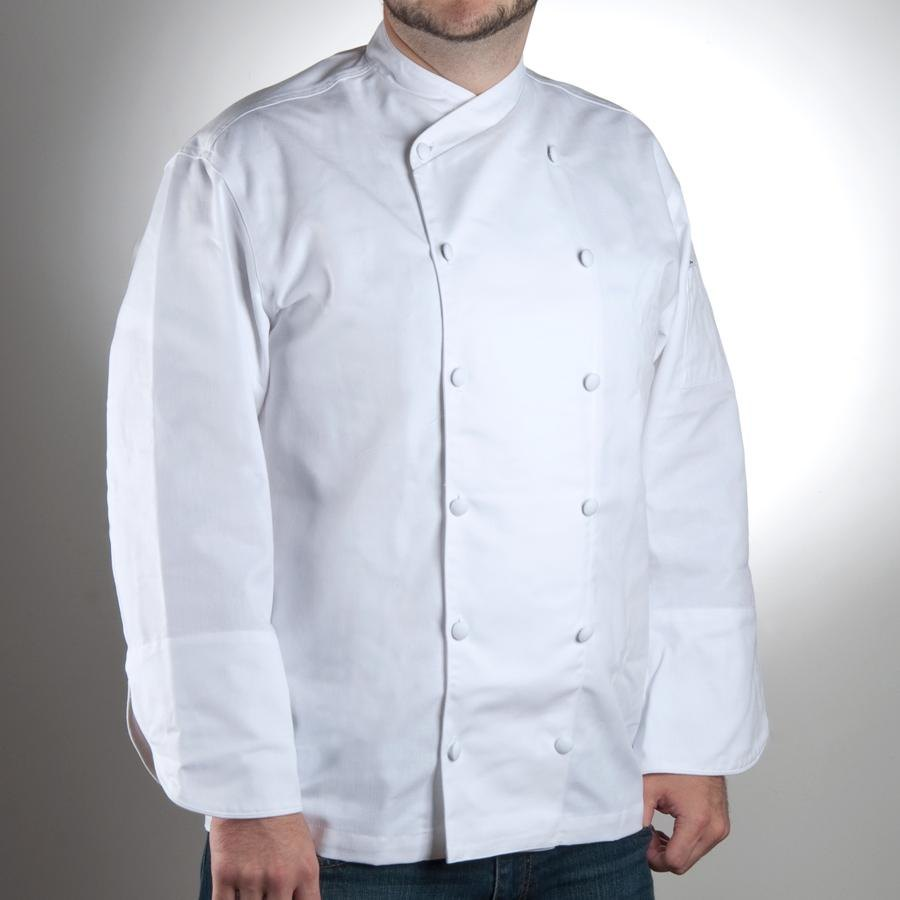 Chef Revival J006-L Chef-Tex Size 46 (L) Customizable Poly-Cotton Corporate Chef Jacket
