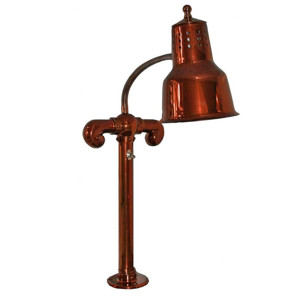 hanson heat lamps sl fm sc smoked copper single bulb flex mounted food warmer. Black Bedroom Furniture Sets. Home Design Ideas