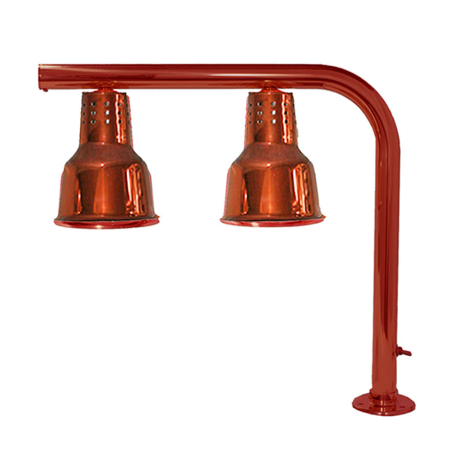 Hanson Heat Lamps FLD/FM/SC Dual Bulb Heat Lamp With