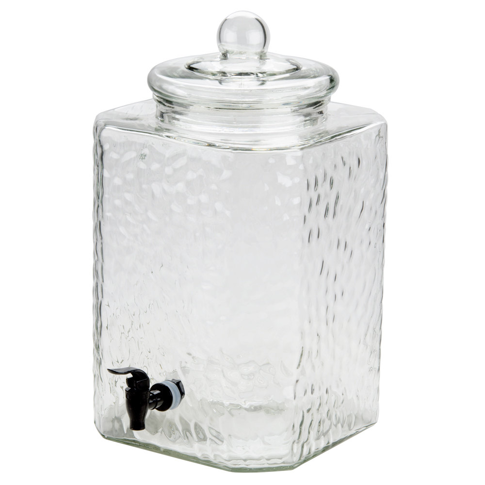 Core 5 Gallon Glass Beverage Dispenser With Glass Lid 10