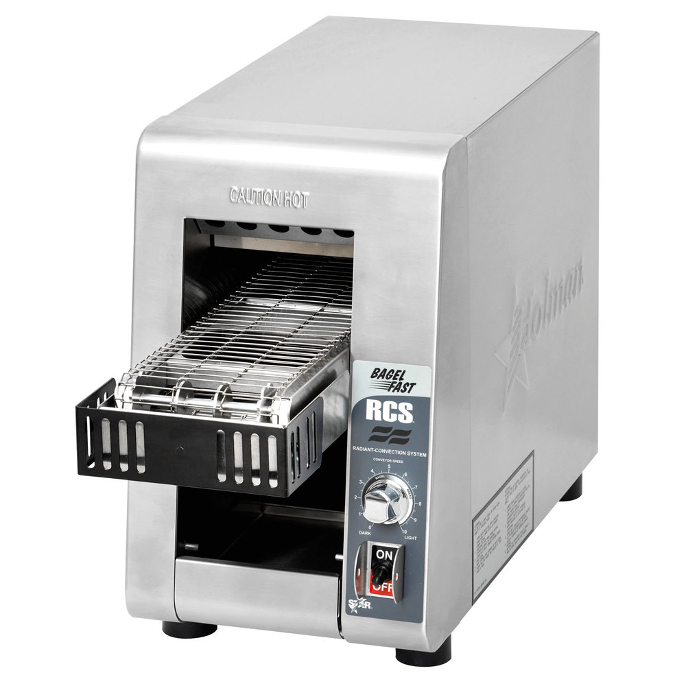 "Star Holman RCS-2-600BN Radiant Conveyor Toaster with 1 5/8"" Opening"