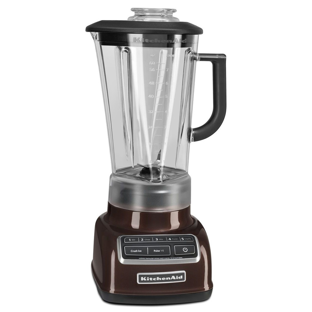 kitchenaid ksb1575es espresso diamond 60 oz five speed blender