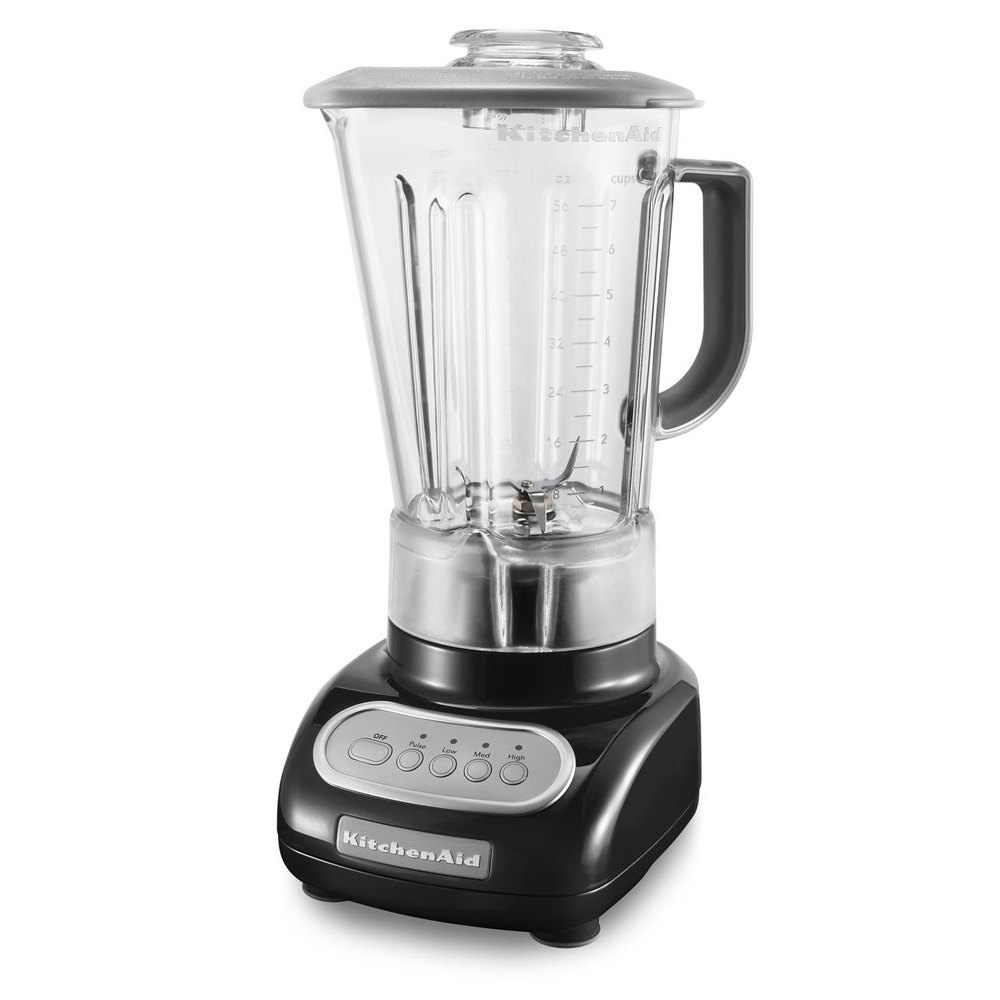 kitchenaid ksb1570ob onyx black 56 oz five speed blender
