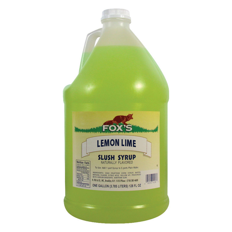 Fox's Lemon-Lime Slu