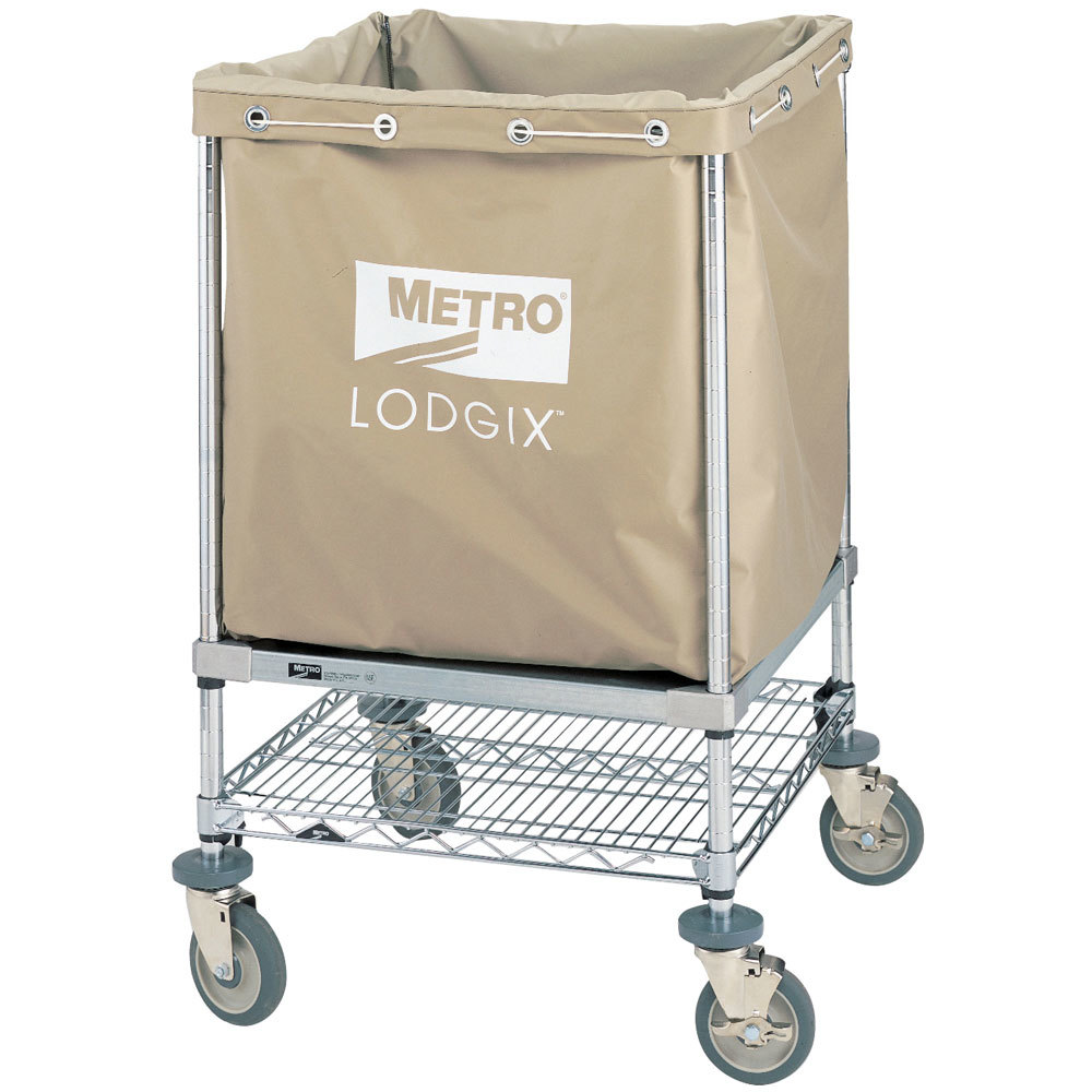 "Metro LXHR-PLUS Lodgix Houserunner Plus Cart 24"" x 24"" x 39"""