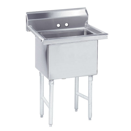 Advance Tabco FS-1-3624 Spec Line Fabricated One Compartment Pot Sink - 41""