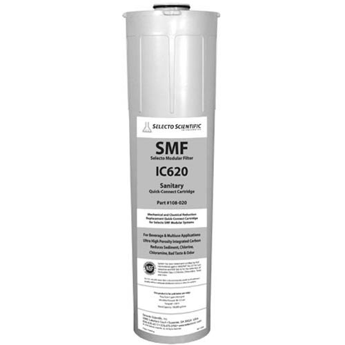 "All Points 76-1180 5 7/8"" x 23"" Water Filtration Cartridge - 5 GPM, 0.5 Micron"