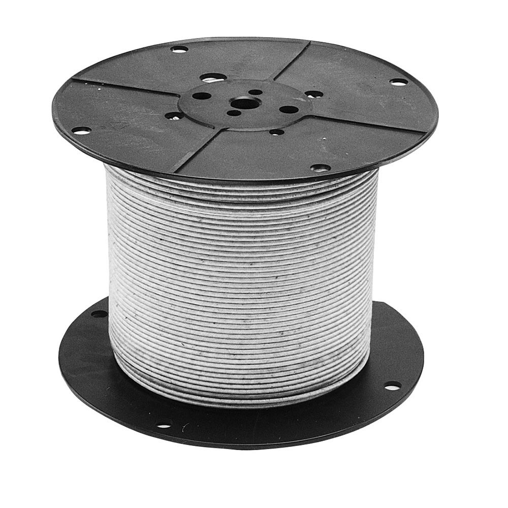 All Points 38-1357 High Temperature Wire; #10 Gauge; Stranded MG; Tan; 250' Roll