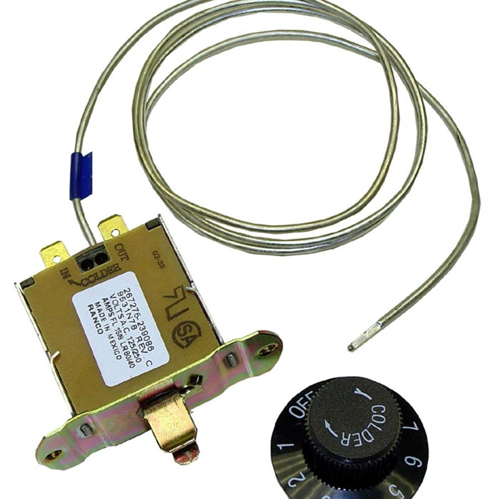 Traulsen 267275 Equivalent Cooler Temperature Controller with Dial - 10 to 40 Degrees Fahrenheit