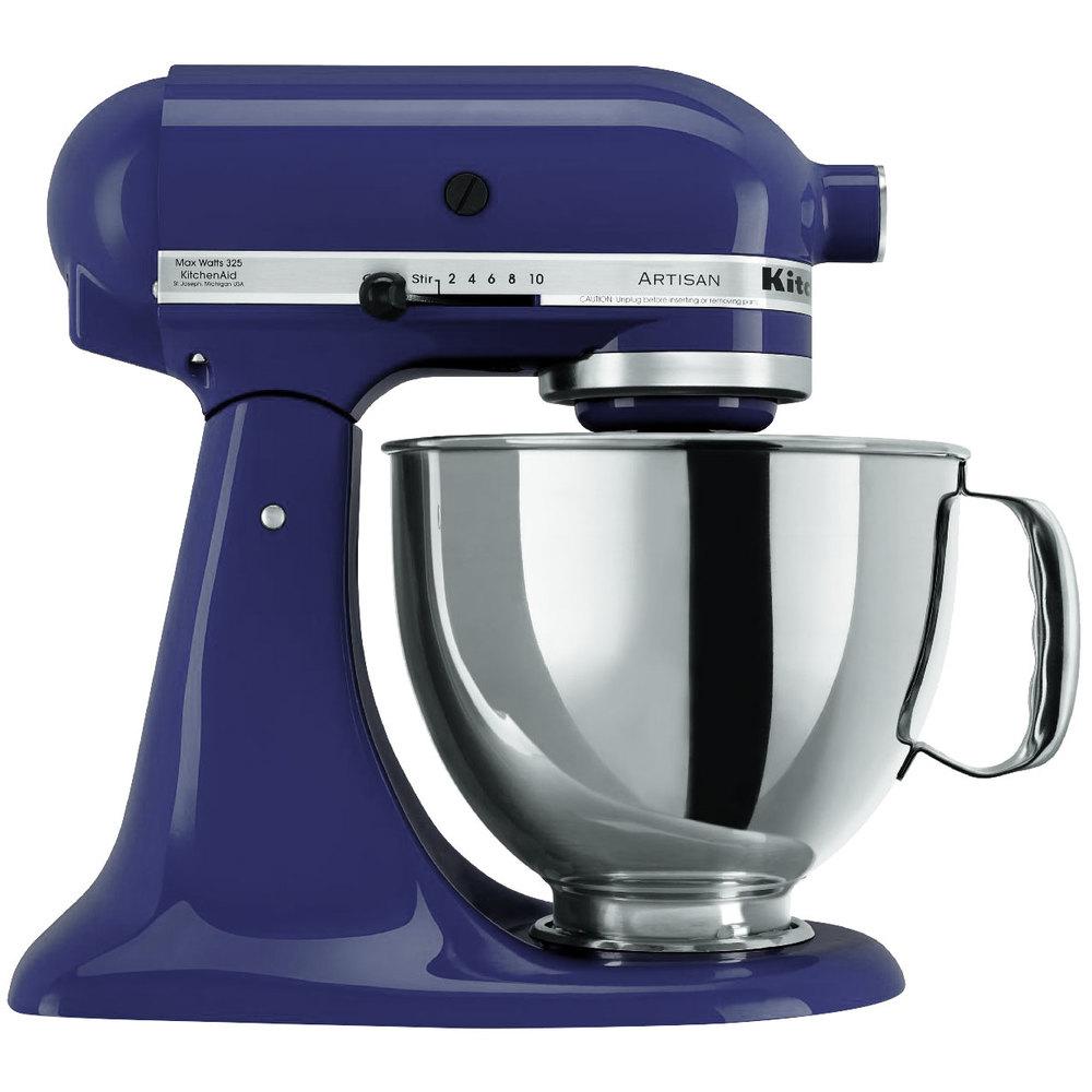 Kitchenaid Ksm150psbu Cobalt Blue Artisan Series 5 Qt