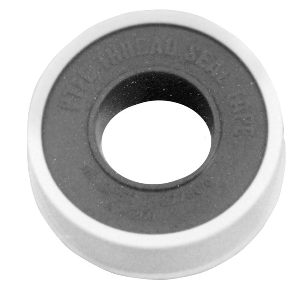 "All Points 85-1090 White PTFE Teflon® Tape; 1/2"" x 260"""