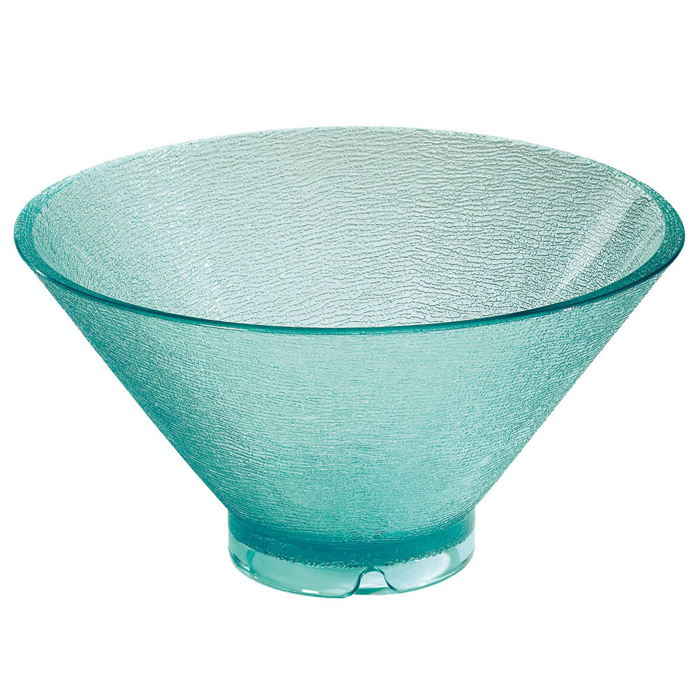 GET HI-2018-JA Cache 4 Qt. Jade Polycarbonate Serving Bowl - 3/Case