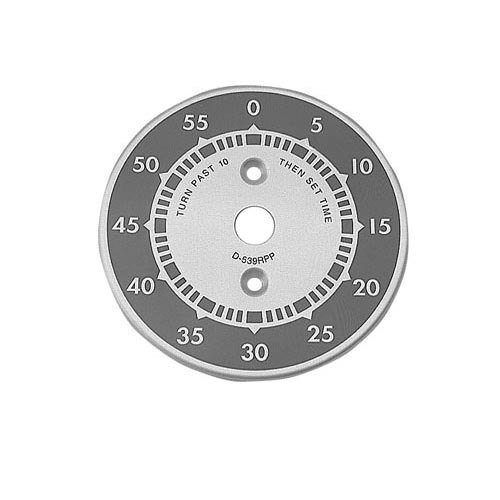 "All Points 22-1110 3"" Steamer Dial Plate (0-55)"