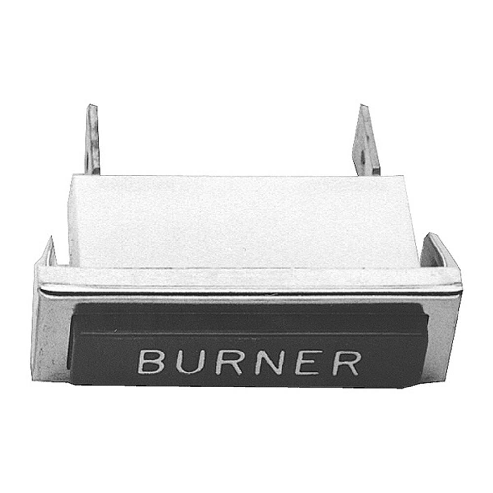 "All Points 38-1175 ""Burner"" Signal Light; 3/8"" x 1-5/16""; Red; 125V"