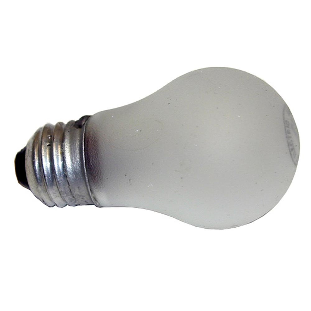 All Points 38-1206 40W Shatterproof Light Bulb with Medium Base - 230V