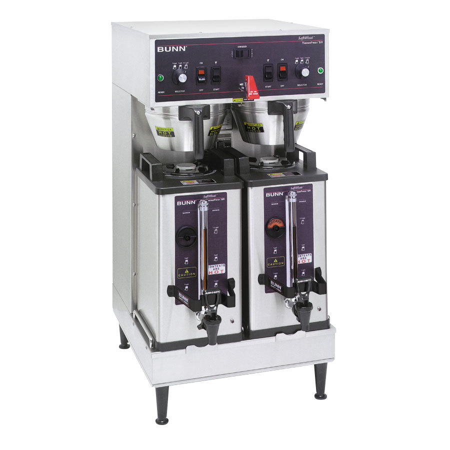 Bunn SH Soft Heat Dual Brewer - Stainless Steel 120/208V (Bunn 27900.0001)