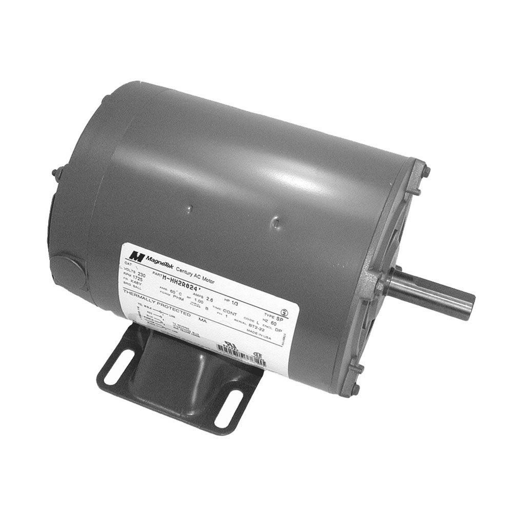 Hobart 345201 1 equivalent 1 3 hp reversible blower motor for 1 3 hp blower motor