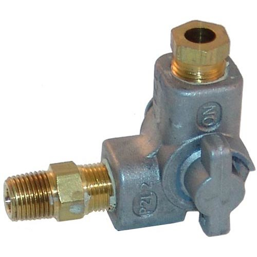 "All Points 52-1142 Pilot Shut Off Valve; 1/4"" NPT Gas In / Out"