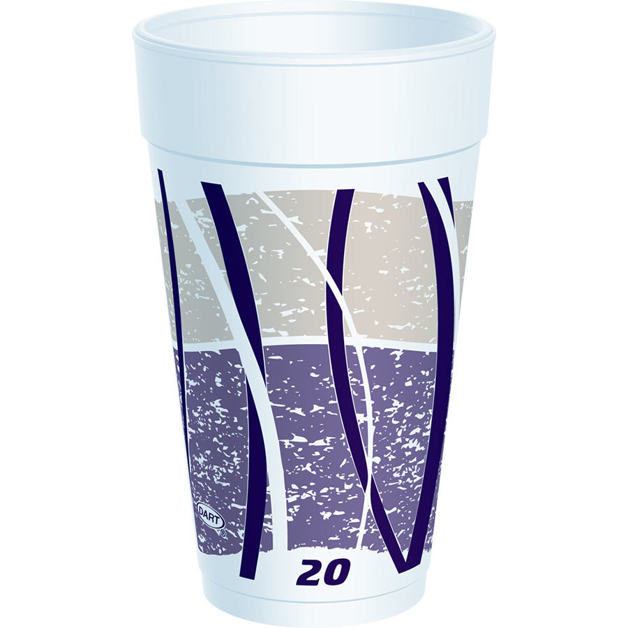 Dart 20LX16E 20 oz. Impulse Foam Cup 500/Case