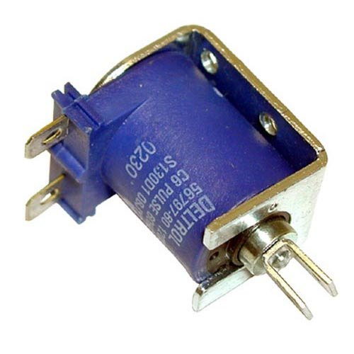 All Points 42-1441 Solenoid with Blue Coil and Plunger; 120V