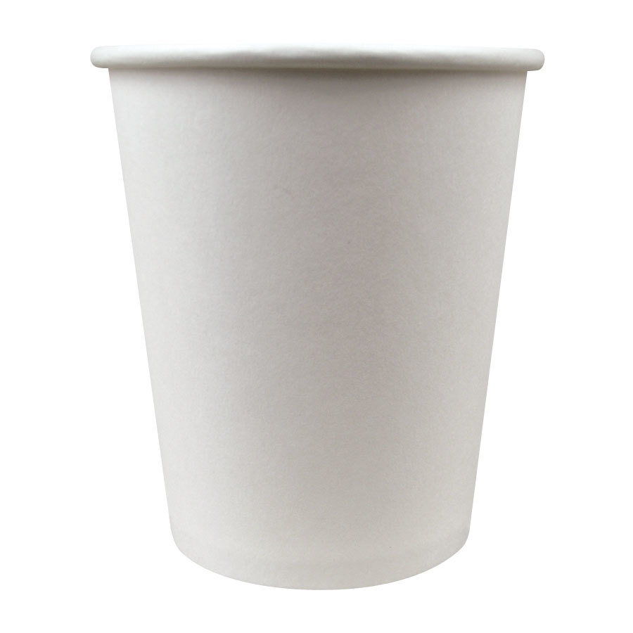Choice 8 oz. Paper Hot Cup White 1000 / Case