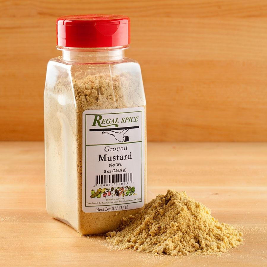 Regal Ground Yellow Mustard 8 oz.