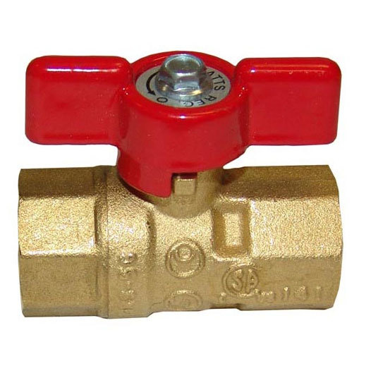 All points gas ball shut off valve quot in