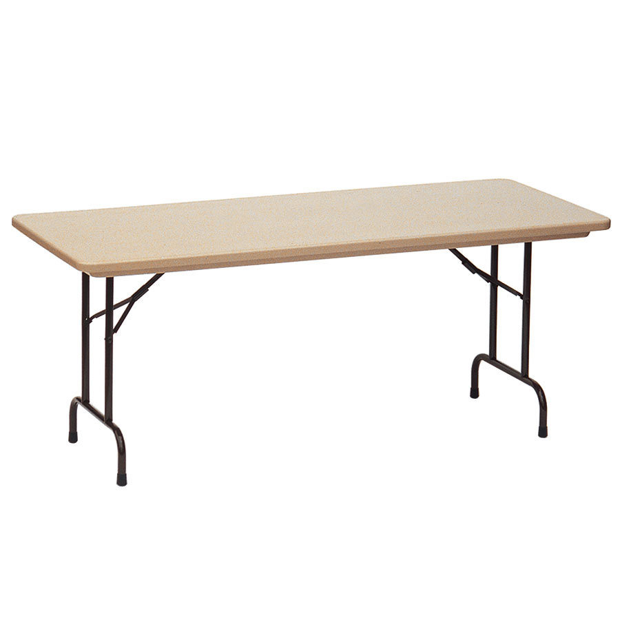 Plastic Folding Table : Correll RX3072 30
