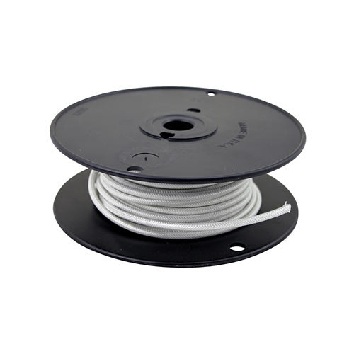 All Points 38-1294 High Temperature Wire; #10 Gauge; Stranded SRGN; White; 50' Roll