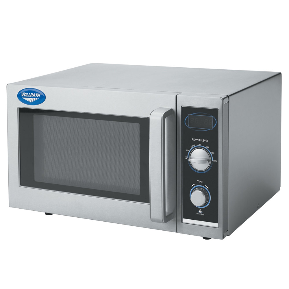 110v Microwave Oven: Vollrath 40830 Stainless Steel Commercial Microwave Oven