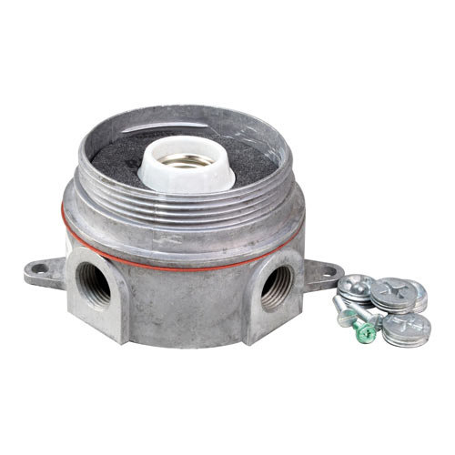 "All Points 38-1323 Junction Box with Lamp Assembly; 5/16"" Diameter Mounting Hole; 5 1/8"" Centers"