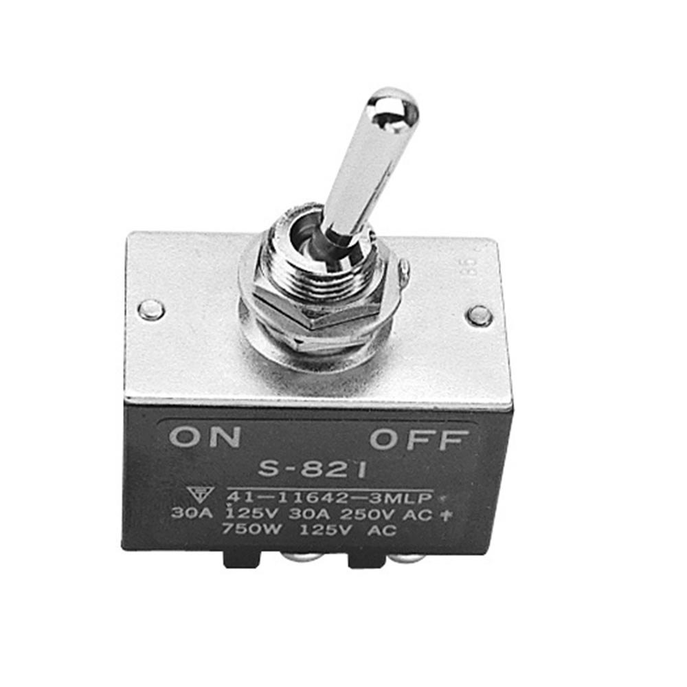 All Points 42-1275 On/Off Toggle Switch - 30A/125-250V