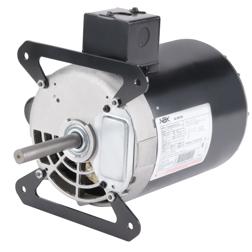 Garland / US Range 1686701 Equivalent 3/4 hp, 1725/1140 RPM Blower Motor - 115V