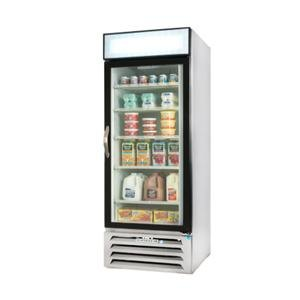 Beverage Air MMR27-1-W White Marketmax Refrigerated Glass Door Merchandiser - 27 Cu. Ft. at Sears.com