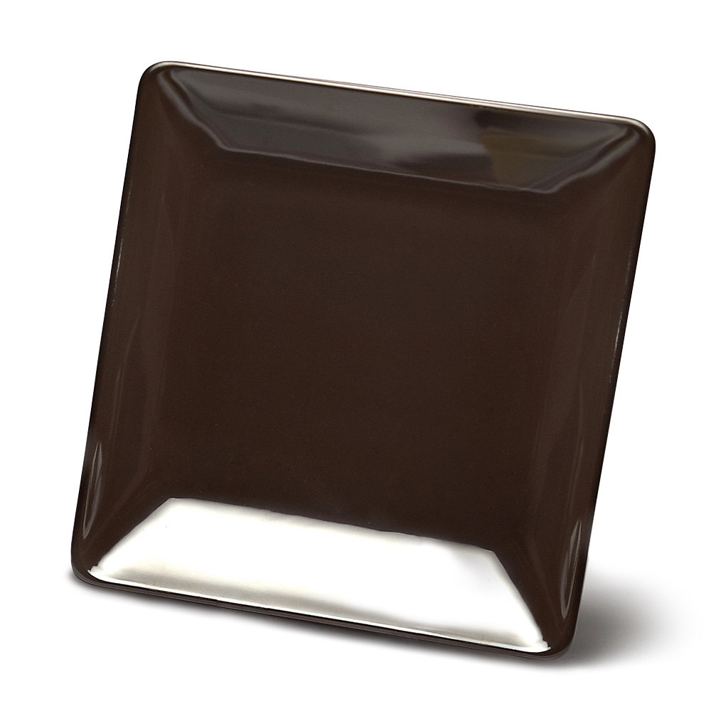"Elite Global Solutions D77SQ Squared Aubergine 7"" Square Melamine Plate at Sears.com"