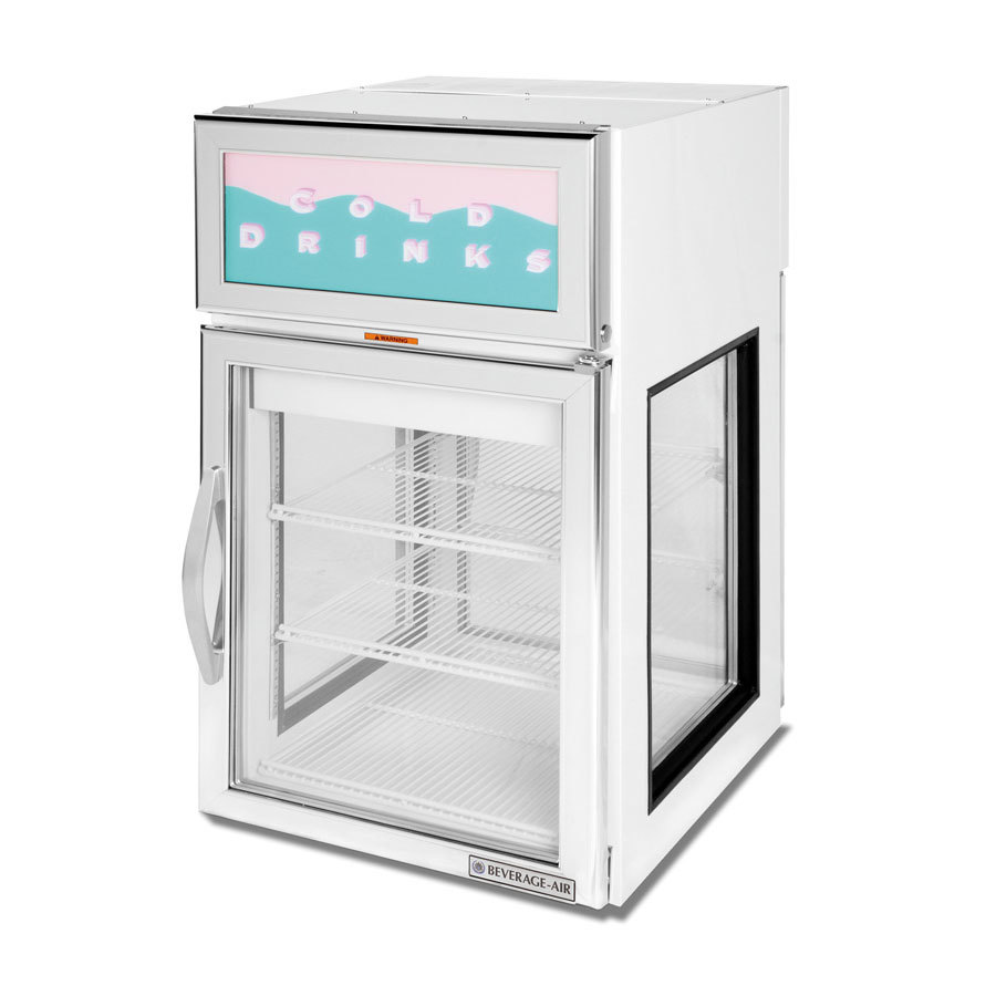 Beverage Air Cr5ge 1w G White Countertop Merchandiser