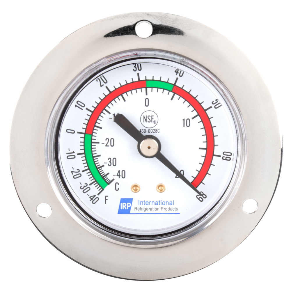 "Replacement 2"" Remote Vapor Tension Thermometer; -40 to ..."